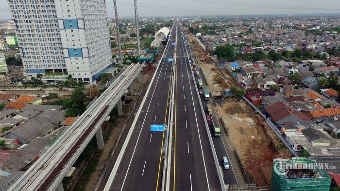 Organda Protes Larangan Bus dan Truk Lewat Jalan Tol Layang Cikampek